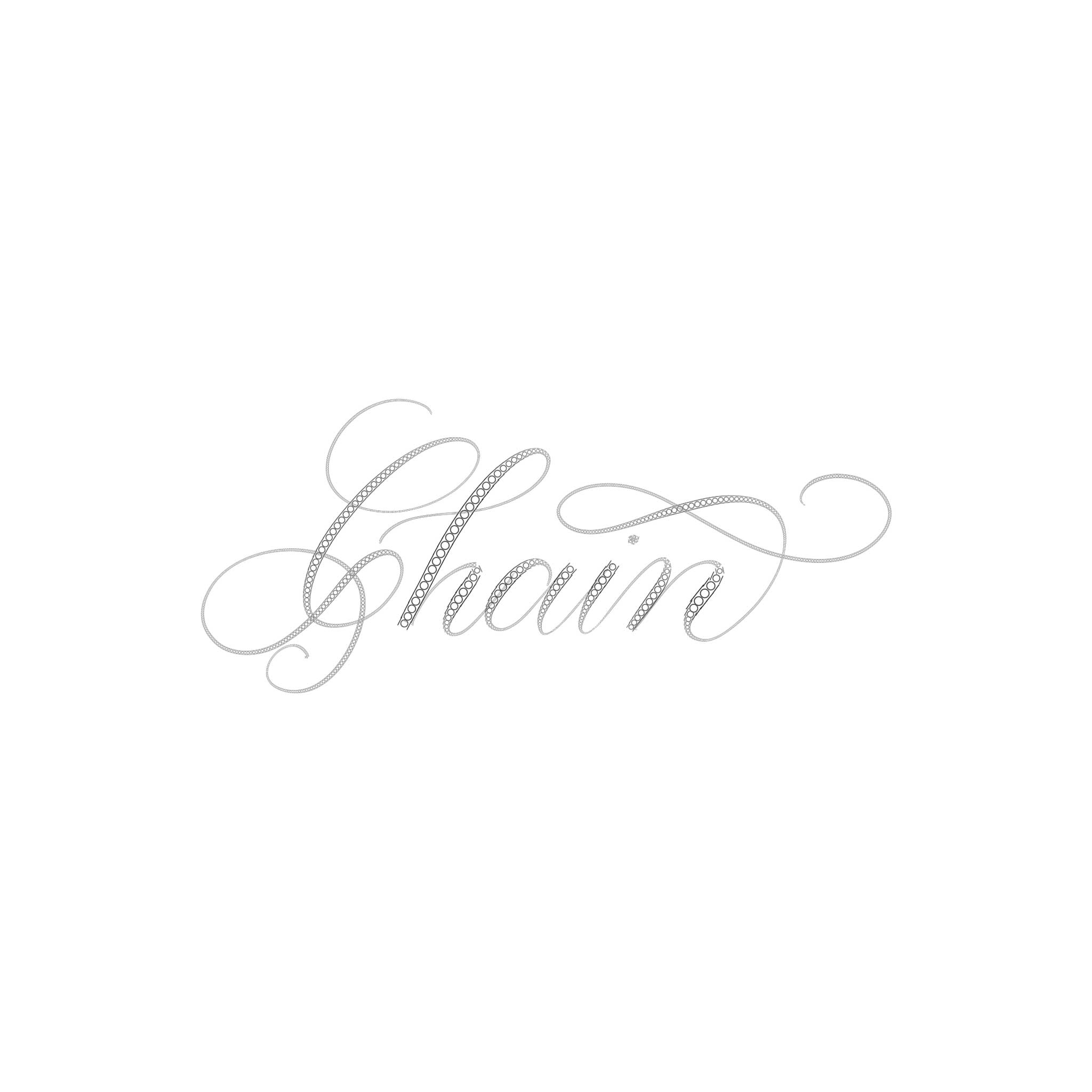Chain Procreate Lettering Brush