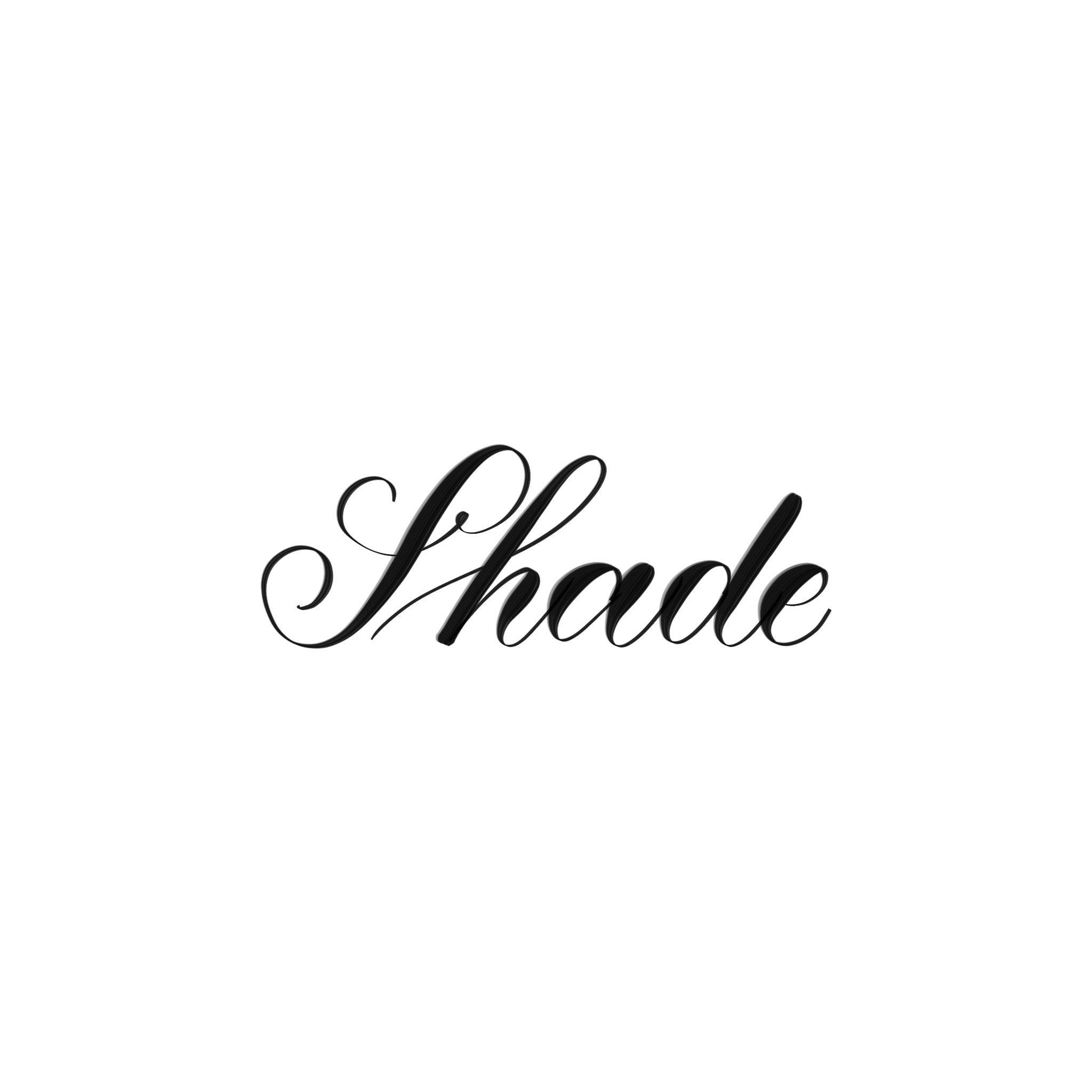 Shade Procreate Lettering Brush - halfapx