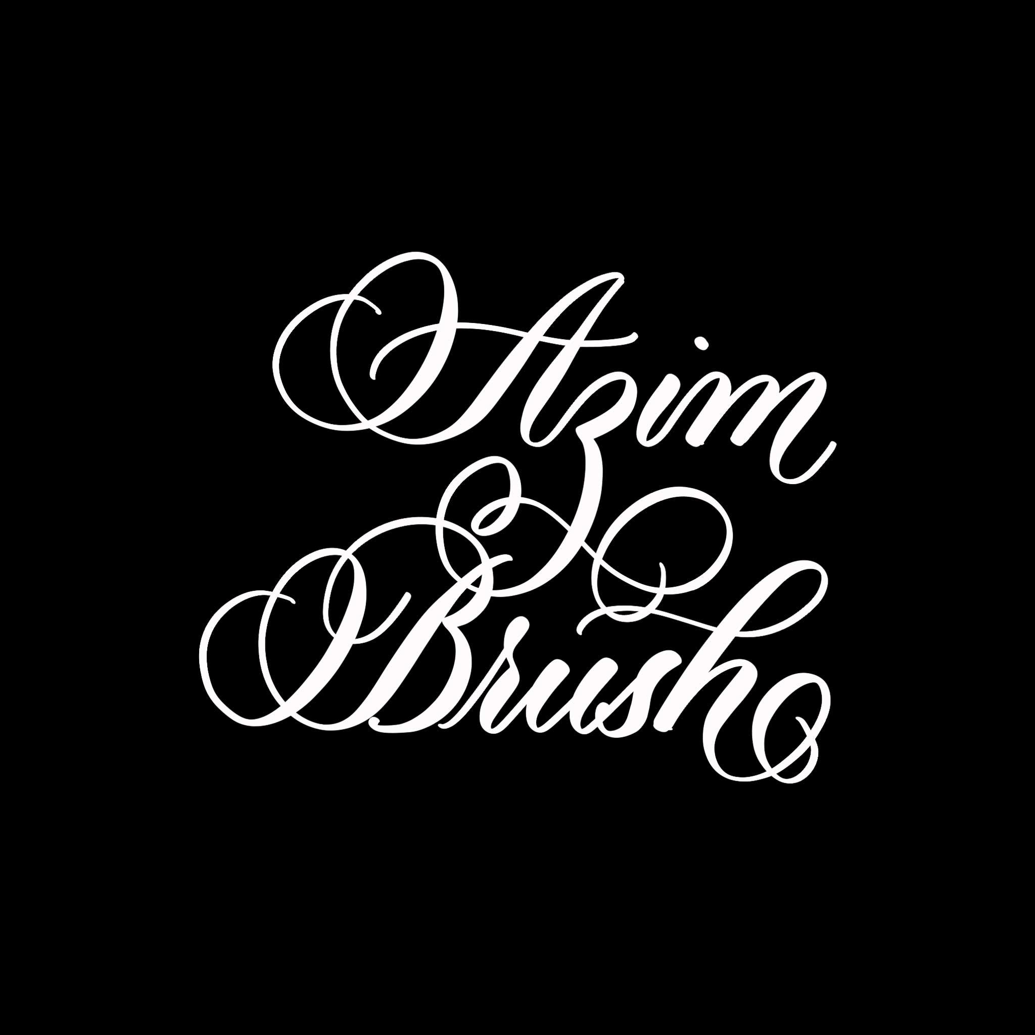 Azim Brush Procreate Lettering Brush - halfapx