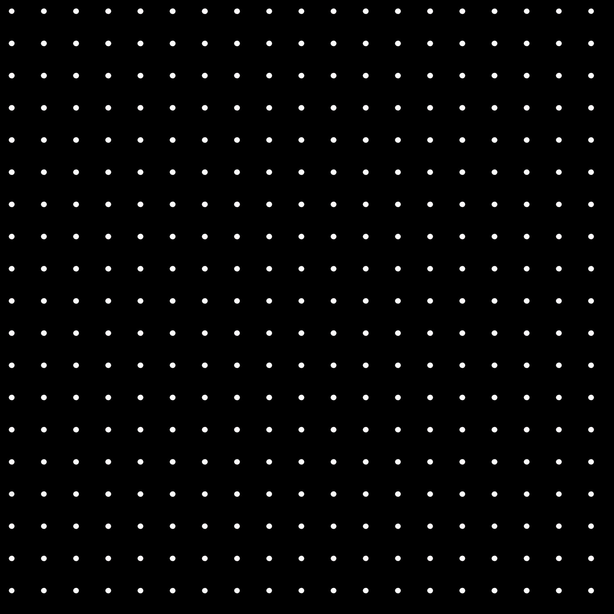 Dot Grid Procreate Brush - halfapx